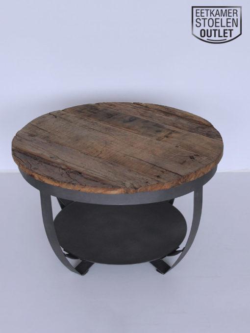 Bijzettafel Brussel Reclaimed wood